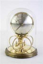 Sale 8844O - Lot 623 - Kundo 400 Day Clock in Glass Dome with Key & Pamphlet