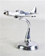 Sale 8931 - Lot 87 - Metal P-51 Mustang Commemorative Ornament H: 15cm