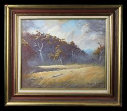 Sale 7923 - Lot 502 - Dixon Copes - Landscape 36 x 45cm