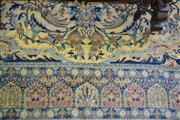 Sale 8093 - Lot 1817 - Persian Carpet In Cream and Blue Tones (188 x 288cm)