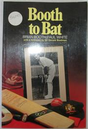 Sale 8460C - Lot 20 - Brian Booth with Paul White. Booth to Bat. An Autobiography Anzea Rep. 1992. Paperback. Signed on half title page Best Wishes, Brian...