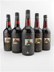 Sale 8514W - Lot 79 - 5x Yalumba Thoroughbred Series Vintage Port, Barossa Valley - 1976 to 1980