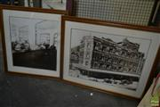 Sale 8522 - Lot 2086A - Two Vintage Pub Photos