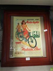 Sale 8563T - Lot 2114 - Bicycle Advertisement