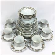 Sale 8652W - Lot 12 - Chinese China Wares for Six