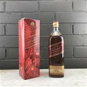 Sale 8976W - Lot 78 - 1x Johnnie Walker Red Label Blended Scotch Whisky - International Millenium Edition, 1125ml in box