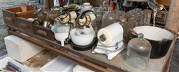 Sale 9191W - Lot 762 - A table lot of sundries to include glassware, ceramics and kitchenalia