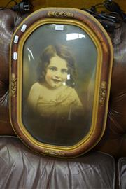 Sale 8066 - Lot 1046 - Vintage Photo with Frame