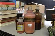 Sale 8139 - Lot 2280 - Quantity Of vintage And other Apocethary Bottles