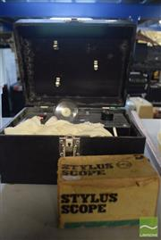 Sale 8497 - Lot 2304 - Vintage Rayvue X-Ray Equipment plus Stylus scope box