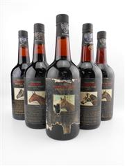 Sale 8514W - Lot 80 - 5x Yalumba Thoroughbred Series Vintage Port, Barossa Valley - 1976 to 1980