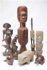 Sale 8698 - Lot 43 - Treen Collection Incl Indonesian And Chinese Examples