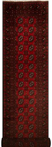 Sale 8418C - Lot 20 - Afghan Turkman Runner 380cm x 80cm