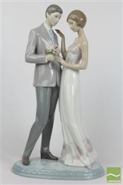 Sale 8516 - Lot 61 - Lladro Figure Of A Man And Woman