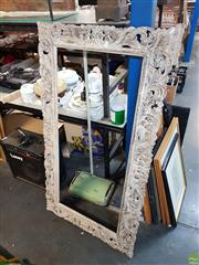 Sale 8609 - Lot 2085 - Pierced Timber Frame