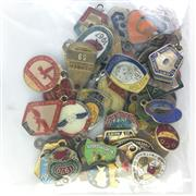 Sale 8793 - Lot 102 - Batch of NSW League Club Badges including Manly, South Sydney & Sydney Cricket Ground (50)