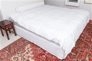 Sale 9023H - Lot 69 - A King size bed 185cm wide comprising two king singles including all bedding