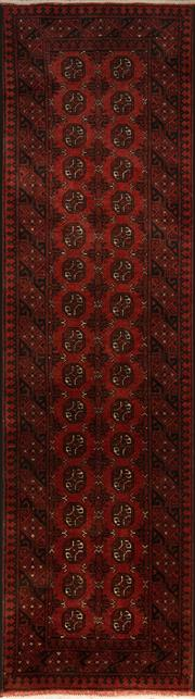 Sale 8418C - Lot 21 - Afghan Turkman Runner 285cm x 80cm