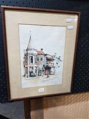 Sale 8699 - Lot 2036 - Tremlett - Corner Store, signed & dated lower centre -