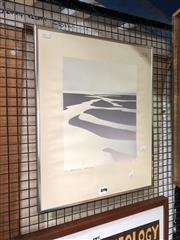 Sale 8865 - Lot 2094 - Malcolm Warr - Estuary 1976 screenrprint ed. 5/16, signed lower right -