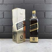 Sale 8976W - Lot 79 - 1x Johnnie Walker Black Label Blended Scotch Whisky - old bottling, some losses, 1000ml in box