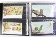 Sale 8994 - Lot 56 - First Day Covers in  binder incl. some with Dollar Coins, medallions & facsimilie Holy Dollar & Dump