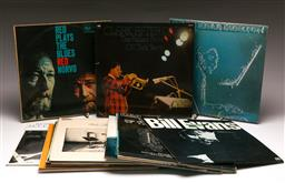 Sale 9136 - Lot 88 - A collection of LP records including Clark Terry And Jelly Roll Morton