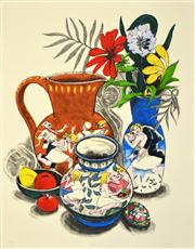 Sale 8592A - Lot 5009 - Frederick (Fred) Cress (1938 - 2009) - Brown Jug, 2000 79 x 61cm