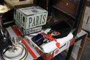 Sale 8346 - Lot 2407 - Box of Sundries incl Home Wares