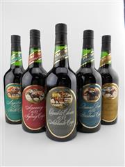 Sale 8514W - Lot 83 - 5x 1979 St Hallett Cup Winner Series Vintage Port, Barossa Valley - full set for 1982