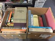 Sale 8659 - Lot 2470 - 2 Boxes of Various Books incl. History of Australian Gold Rushes, ed. N. Keesing; The Princess Elizabeth Gift Book; Australian...