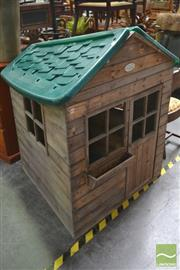 Sale 8277 - Lot 1078 - Kids Cubby House
