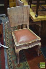Sale 8326 - Lot 1677 - Set of 5 Dining Chairs w Distressed Finish