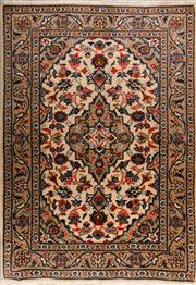 Sale 8447C - Lot 65 - Persian Kashan 143cm x 102cm