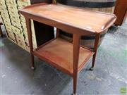 Sale 8566 - Lot 1103 - Teak Tea Trolley