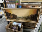 Sale 8906 - Lot 2095 - Box of Prints incl Large French Scene