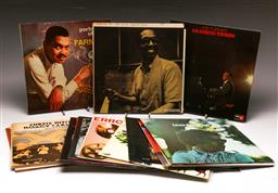 Sale 9136 - Lot 4 - A collection of mostly jazz LP records including Billy Taylor Trio And Joe Turner