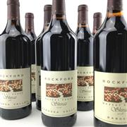 Sale 8862 - Lot 556 - 10x 1999-2008 Rockford 'Basket Press' Shiraz, Barossa Valley - vertical set of 10 bottles, one bottle per vintage