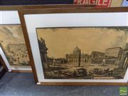 Sale 8461A - Lot 2030 - 2 Artworks Depicting Scenes of Rome