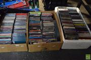 Sale 8530 - Lot 2333 - 3 Boxes of CDs