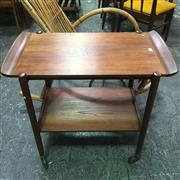 Sale 8643 - Lot 1041 - Good Quality Danish Teak Tea Trolley with removable tray top