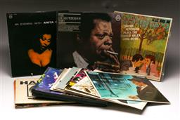 Sale 9136 - Lot 68 - A collection of LP records including Oscar Peterson, Frank Sinatra