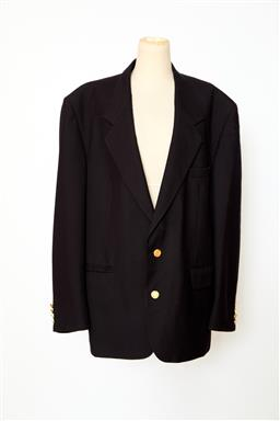 Sale 9095F - Lot 36 - A mens Christian Dior Monsieur formal jacket with gold Christian Dior buttons, size XXL.