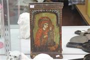 Sale 8360 - Lot 20 - Handpainted Icon