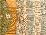 Sale 8808 - Lot 502 - Monica Napaltjari (c1960 - ) - Artists Country 122 x 91cm (stretched and ready to hang)