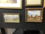 Sale 8856 - Lot 2006 - Pair of Australian School Paintings by Janet Price and R. Simpson