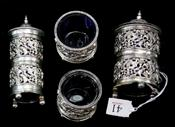 Sale 7877 - Lot 41 - Continental Silver Cruet Set