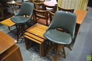 Sale 8364 - Lot 1041 - Pair of T H Brown Barstools