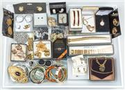Sale 8369A - Lot 382 - A tray of costume jewellery some still boxed