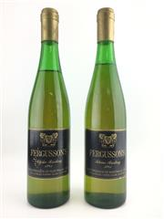 Sale 8439W - Lot 712 - 2x 1981 Fergusson Winery Riesling, Yarra Valley